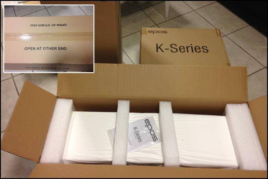 Epos K1 – K2 – K3 Unboxing e primo sguardo