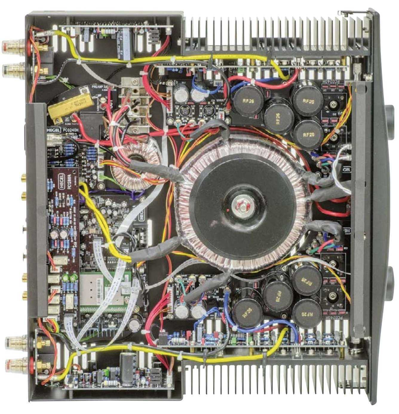 La prova dell'integrato HEGEL H360 di Audioreview