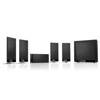 KEF T105 - Sistema Home Cinema - Black