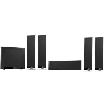 KEF T305 - Sistema Home Cinema - Black