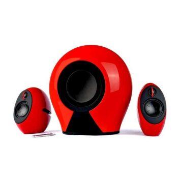 EDIFIER Luna 2.1 - Sistema audio amplificato Bluetooth 2.1 con Sub wireless - Red
