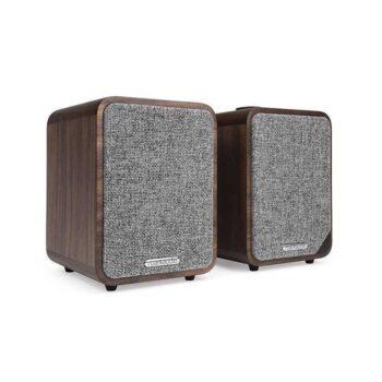 RUARK MR1 Mk2 - Diffusori Amplificati Bluetooth più premiati al mondo - Walnut