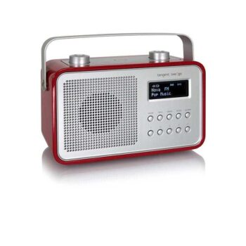 TANGENT Dab2Go BT - Radio - Red