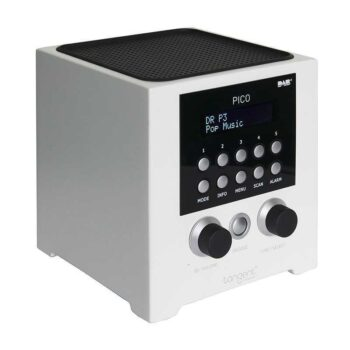 TANGENT Pico DAB+ - Radio sveglia - White