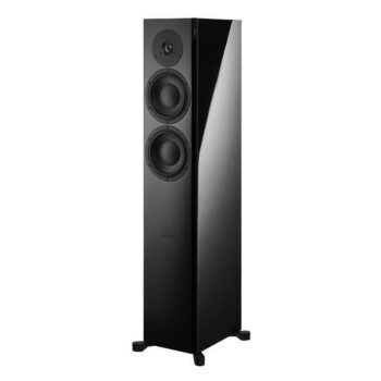 DYNAUDIO Focus 30 XD - Diffusori audio Attivi Wireless HiRes da pavimento - Black Piano Lacquer