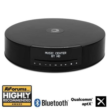 ELIPSON Music Center BT HD - Sistema audio HiFi integrato - Music Center Black BT HD + Google Chromecast