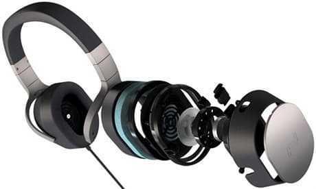 KEF SPACE ONE Wireless - Cuffie HiFi Wireless con cancellazione attiva del rumore