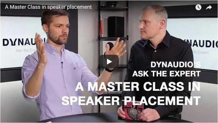 Come posizionare i diffusori: a lezione con Dynaudio