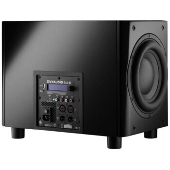 DYNAUDIO Sub 6 – Subwoofer High-End con DSP - Black Satin