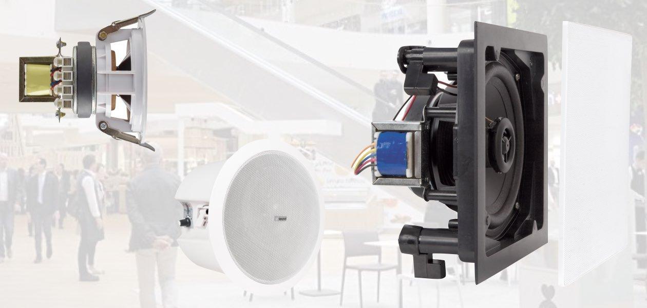 ArtSound diffusori 100V InWall