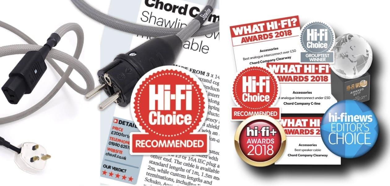 chord cable award