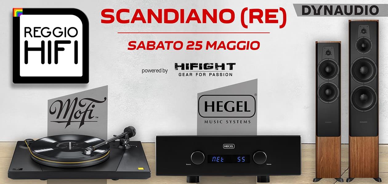 Open Day Reggio Hi-Fi – Sabato 25 Maggio 2019